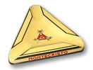 Montecristo ashtray triangular